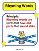 Rhyming Words (Independent and Center Work Activities)