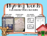 Rhyming Words Activities & Assessment