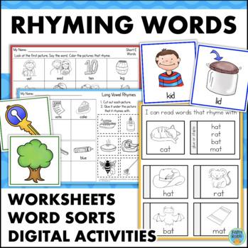 Rhyming Words Activities