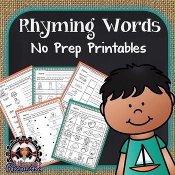 Rhyming Words Printables