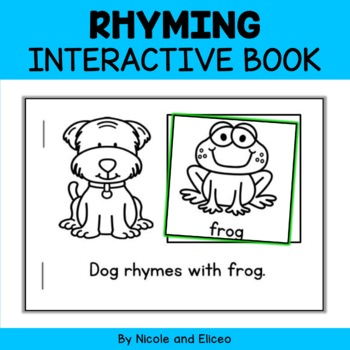 Interactive Mini Book - Rhyming Words