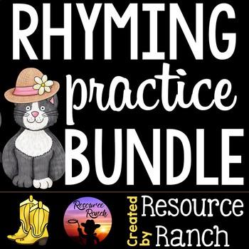 Rhyming Words Activities Bundle