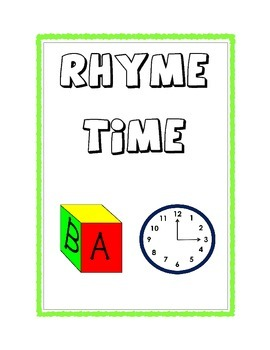 Rhyming Words Assessment Using Pictures