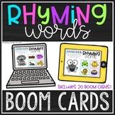 Rhyming Words BOOM Cards™