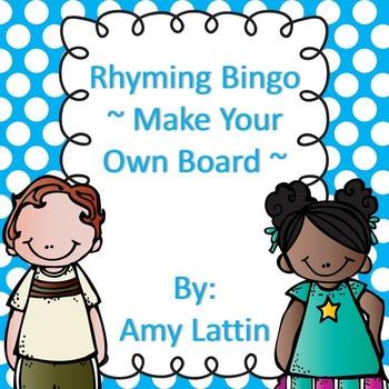 Rhyming Words Bingo