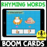 Rhyming Words BOOM CARDS