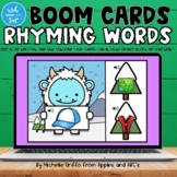 Rhyming Words Boom Cards / Digital Task Cards / Distance Learning