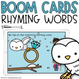 Rhyming Words Boom Cards™ for Distance Learning