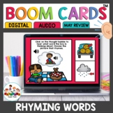 Rhyming Words Boom Cards for Kindergarten