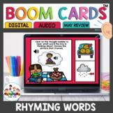 Rhyming Words Boom Cards for Kindergarten