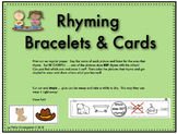 Rhyming Words Bracelets and Picture Cards