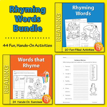 Rhyming Words {Bundle}