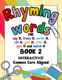 Rhyming Words CVC Packet 2