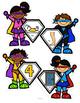 Rhyming Words Center Superheroes