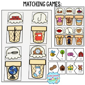 Rhyming Centers and Rhyming Activities