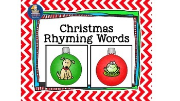 Rhyming Words Christmas