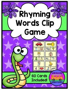 Rhyming Words Clip Game