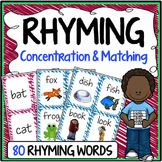 Rhyming Words Concentration & Matching Game