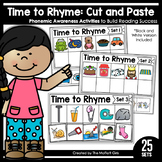 Rhyming Words (Cut and Paste): Phonemic Awareness