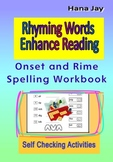 Rhyming Words Enhance Reading Onset and Rime Spelling Workbook