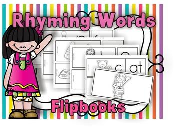 Word Families Flip books
