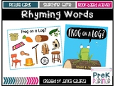 Rhyming Words {{Frog on a Log?}}