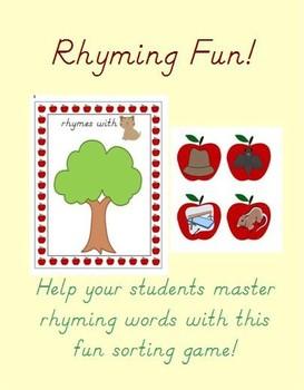 Rhyming Words Fun!