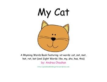 Rhyming Words Kit - Unit 1 (at)  Words