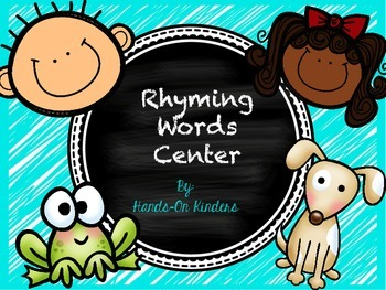 Rhyming Words Literacy Center