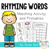 Rhyming Words / Rhyming Games Activities and Worksheets