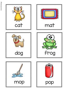 Rhyming Words / Rhyming Games Activities and Worksheets
