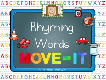 Rhyming Words MOVE IT! The Bundle