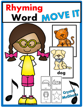 Rhyming Words JUST MOVE! (A Get Up and Move Around the Classroom Game)