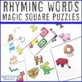 Rhyming Words Activities, Worksheet Alternatives, or Literacy Centers