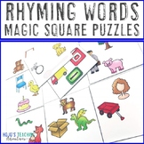 Rhyming Words Activities, Worksheet Alternatives, or Liter