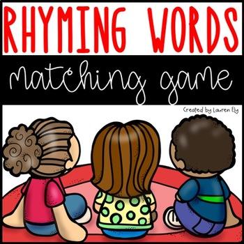 Rhyming Words Matching