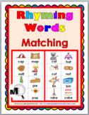 Rhyming Words Activity - Set 1