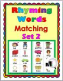 Rhyming Words Activity - Set 2
