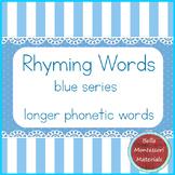 Rhyming Words - Montessori Blue Series
