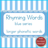 Rhyming Words - Montessori Blue Series