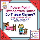 Rhyming Words  Phonemic Awareness Self Correcting Interact