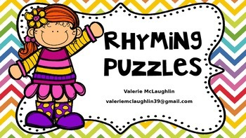 Rhyming Words Picture Puzzles