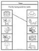 Rhyming Words Pocket Chart Center Activity