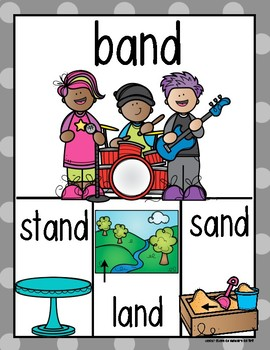 Rhyming Words Posters for Kindergarten & First Grade Reading ELA {Set Three}