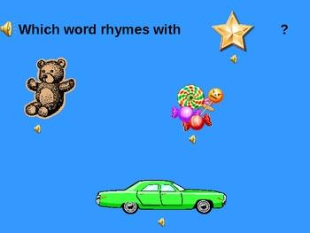Rhyming Words PowerPoint Game