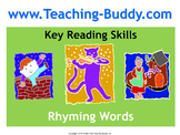 Rhyming Words (PowerPoint and worksheet)