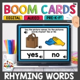 Rhyming Words Practice Digital Task Cards Boom