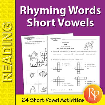 Rhyming Words: Short Vowel Practice
