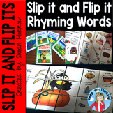 Rhyming Words Self Checking Puzzles: Slip It and Flip It