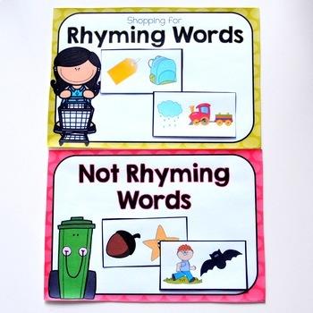 Rhyming Words Sort